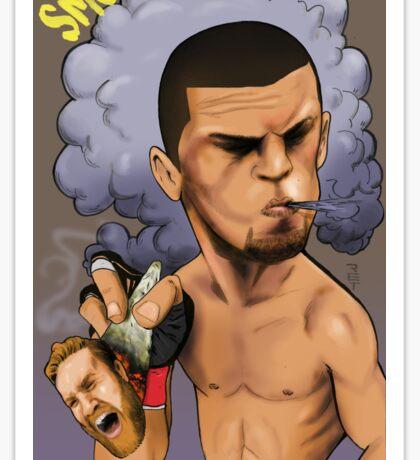 Nate Diaz Sticker