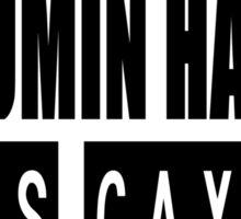 DOES JUMIN HAN IS GAY ? Mystic Messenger Sticker
