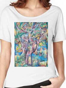 Music of the Rainforest before Dark Women's Relaxed Fit T-Shirt