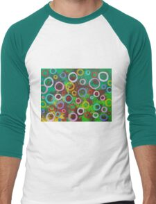 Playing With Soap In The Park Men's Baseball ¾ T-Shirt