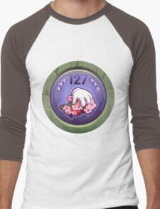 Glitch Achievement masterful fruit tree pettifier Men's Baseball ¾ T-Shirt