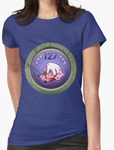 Glitch Achievement masterful fruit tree pettifier Womens Fitted T-Shirt