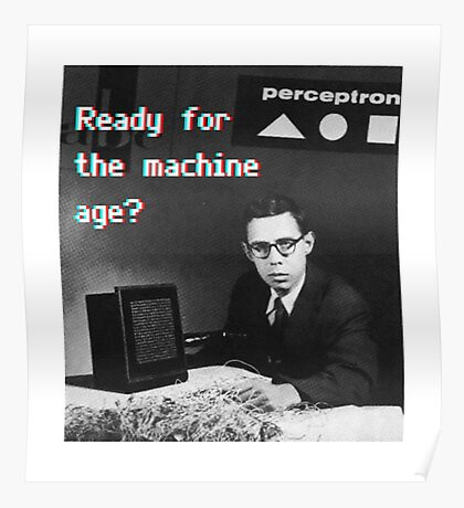 Ready for the machine learning age? (8-bit 3D) Poster