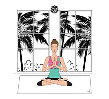 Yoga Girl... by 1XOROSE
