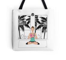 Yoga Girl... Tote Bag