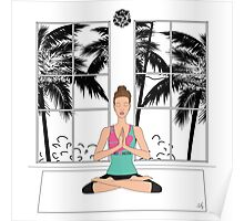 Yoga Girl... Poster