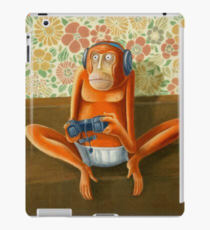 Monkey play iPad Case/Skin