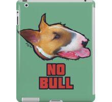"""""""No Bull"""" - English Bull Terrier Dog Design iPad Case/Skin"""