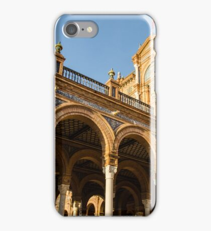 Plaza de Espana Seville iPhone Case/Skin