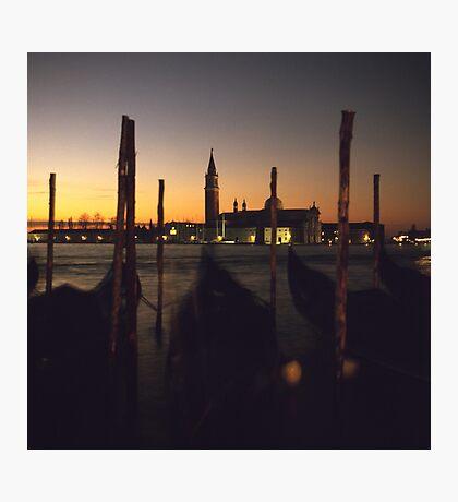 Venice Dawn - Towards San Giorgio Maggiore Photographic Print