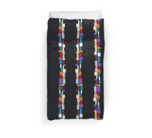geometric colorful pattern Duvet Cover