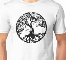 Tree of life (black) Unisex T-Shirt