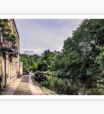 Hebden Bridge - Canal Side Sticker