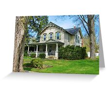 The Ely House ~ Franklinville, NY Greeting Card