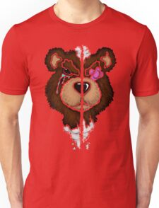 (Stencil) Damaged Teddy  Unisex T-Shirt