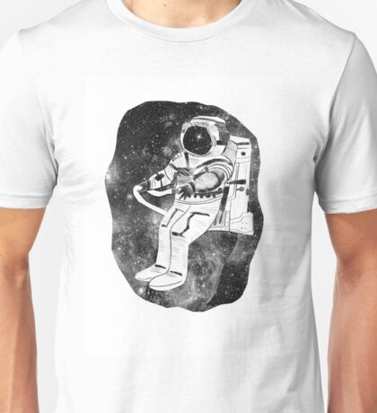 astronaut in space Unisex T-Shirt