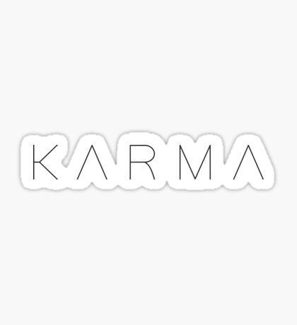 KARMA Sticker