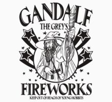 Gandalf The Greys Fireworks by SatiricalStylez