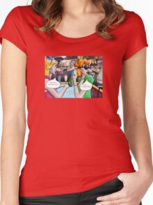 Groggles Women's Fitted Scoop T-Shirt