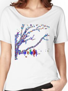 Colorful Trees  Women's Relaxed Fit T-Shirt