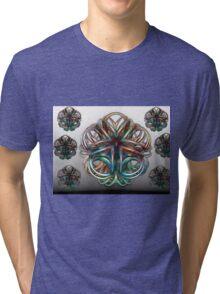Glass Blossoms Tri-blend T-Shirt