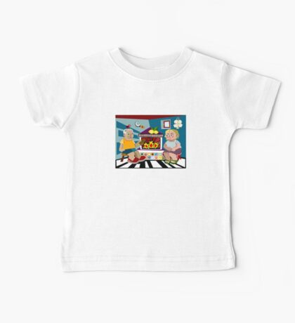 Rural Family Portrait Baby Tee