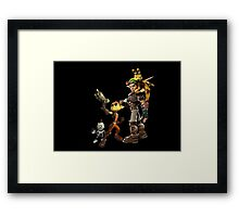 Jak and Daxter and Ratchet and Clank  Framed Print