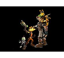 Jak and Daxter and Ratchet and Clank  Photographic Print