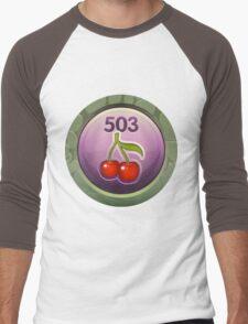 Glitch Achievement midmanagement fruit tree harvester Men's Baseball ¾ T-Shirt