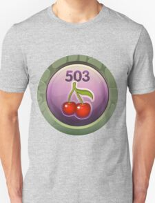 Glitch Achievement midmanagement fruit tree harvester T-Shirt