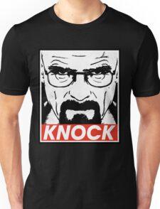 Heisenberg Breaking Bad Fanart - Knock by Mien Wayne Unisex T-Shirt