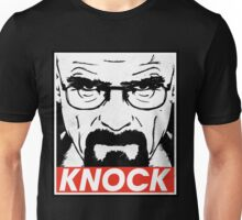 Heisenberg Breaking Bad Fanart - Knock by Mien Wayne Unisex T-Shirt
