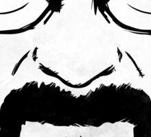 Heisenberg Breaking Bad Fanart - Knock by Mien Wayne Sticker