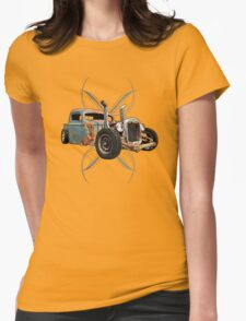 Pinstripe Pipes Womens T-Shirt