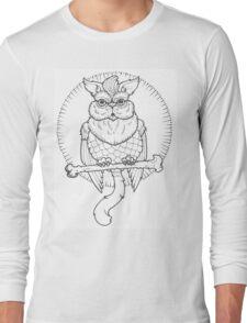 Owl Cat  Long Sleeve T-Shirt