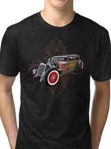 Pinstripe RAT 505 Tri-blend T-Shirt