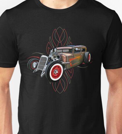 Pinstripe RAT 505 Unisex T-Shirt