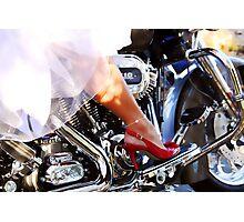 Bride's Ride Photographic Print