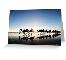 The Camels Greeting Card