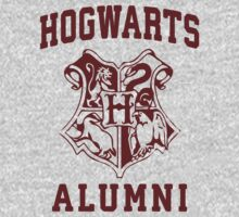 Hogwarts Alumni | Harry Potter Hogwarts Quote Shirt, Hogwarts Seal, Hogwarts Crest T-Shirt