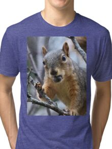 I need smaller chesnuts or a bigger mouth... Tri-blend T-Shirt