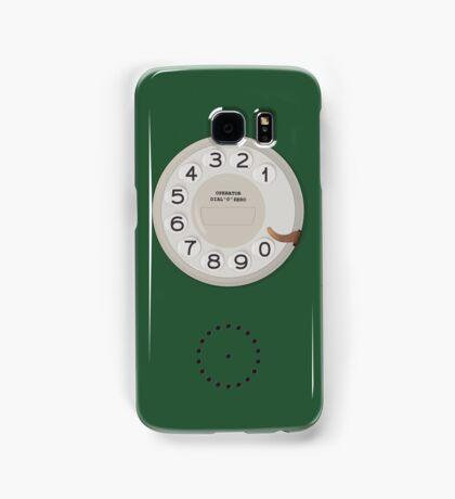 Vintage Dial Phone Green Samsung Galaxy Case/Skin