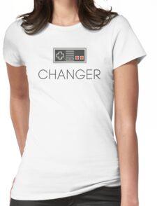 Game Changer Life Entrepreneur Sentence Womens Fitted T-Shirt