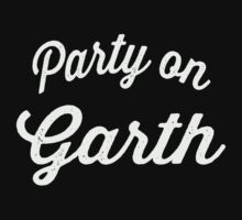 Party On Garth | Waynes World Best Friends Tees 1/2 by Tradecraft Apparel