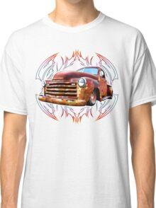Pinstripe Rust Truck-a Classic T-Shirt