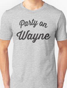 Party On Wayne | Waynes World Best Friends Tees 2/2 T-Shirt
