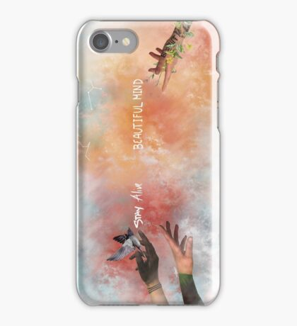 Stay Alive Beautiful Mind iPhone Case/Skin