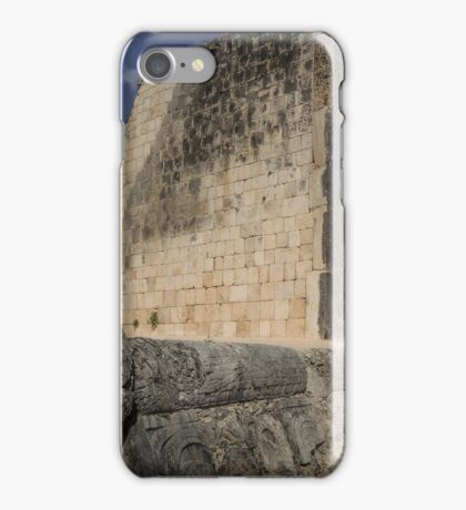 The Great Ball Court Facade  iPhone Case/Skin