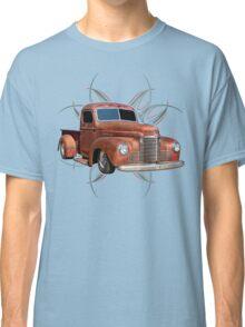 Pinstripe Rust Truck 2 Classic T-Shirt