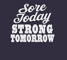 Sore Today Strong Tomorrow | Fitspo Quote, Womens Workout Women's Tank Top
